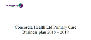 Concordia Health business plan (pdf)