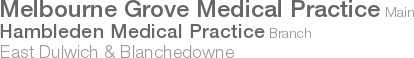 Melbourne Grove Medical Practice